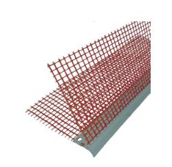 Profil colt PVC cu plasa orange pentru fatada, 10+10 cm, 2.5m