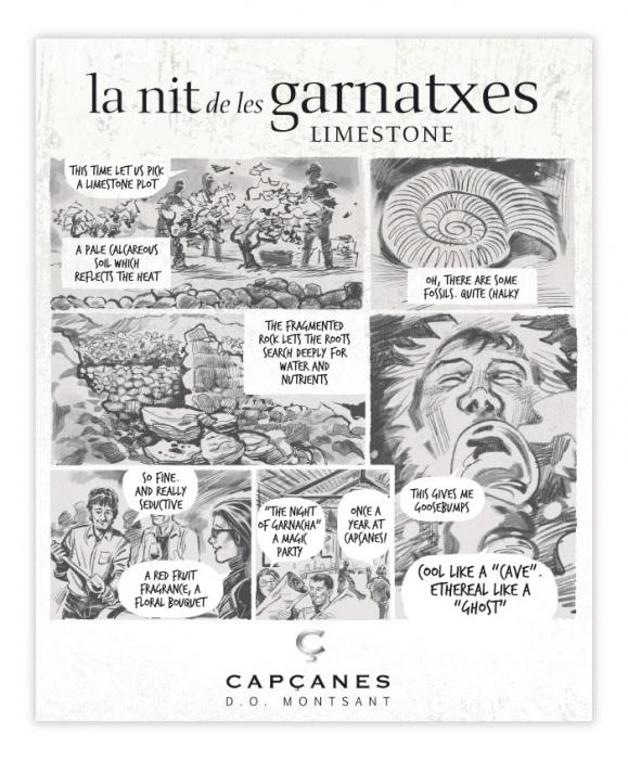 LA NIT DE LES GARNATXES LIMESTONE - 2018 - MONTSANT D.O. 2