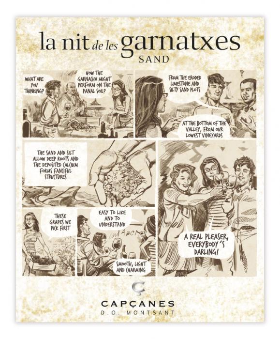 LA NIT DE LES GARNATXES SAND - 2018 - MONTSANT D.O. 2