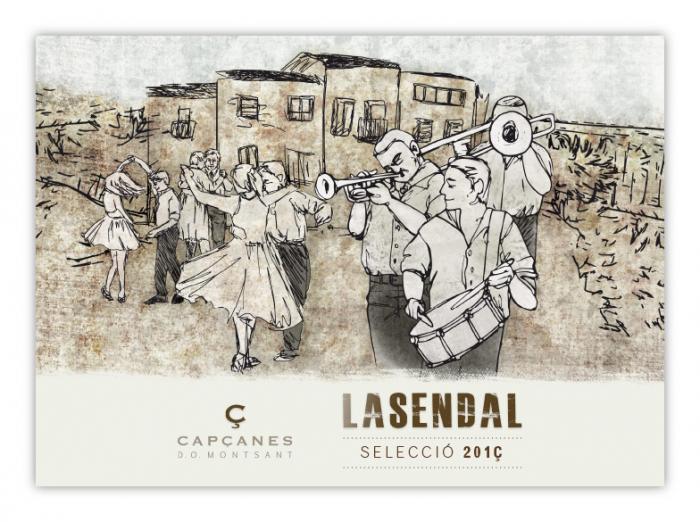 Vin rosu LASENDAL - 2018 - MONTSANT 2