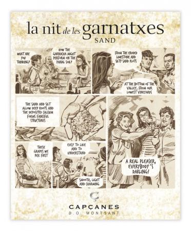 LA NIT DE LES GARNATXES SAND - 2018 - MONTSANT D.O.2
