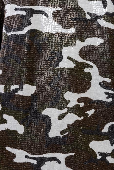 Geaca Military - camuflaj din paiete 2