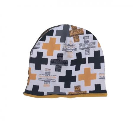 Căciulă Cross galben1