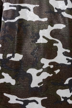 Geaca Military - camuflaj din paiete2