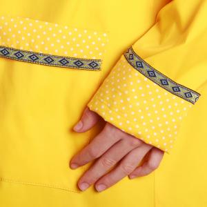 Pelerină de ploaie galbenă2