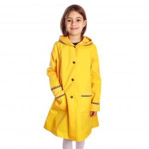 Pelerină de ploaie galbenă0