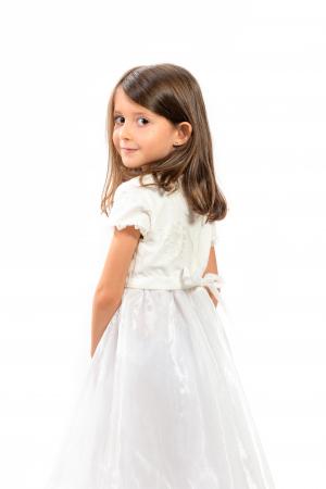 Rochiță albă Crăiasa Zăpezii2