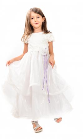 Rochiță albă Crăiasa Zăpezii1