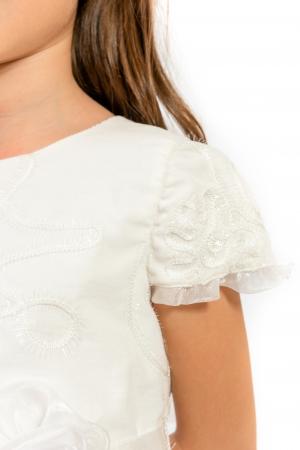 Rochiță albă Crăiasa Zăpezii3