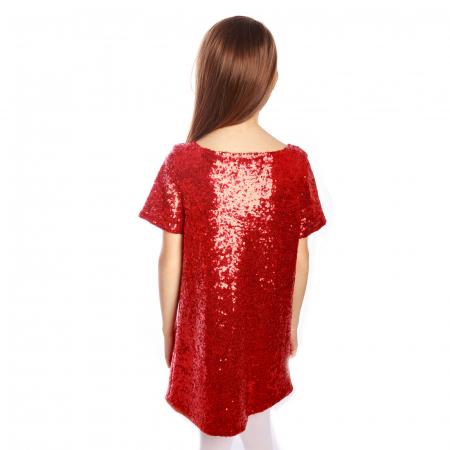 Rochie paiete roșii1