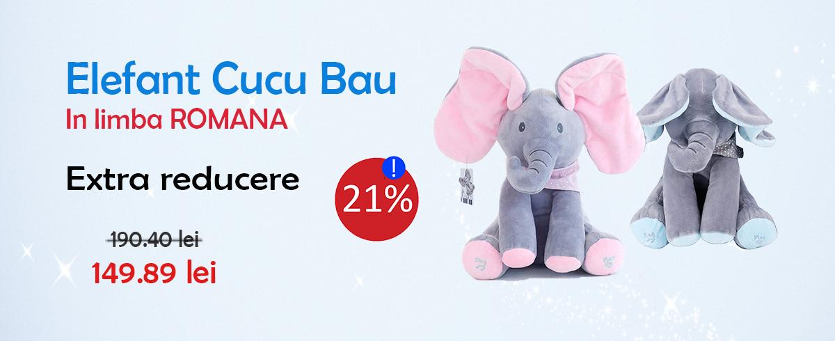 Promotie  Elefant Cucu-Bau