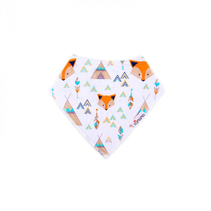 4 seturi 2 in 1 Tumama® bandana si babetica bebelusi, imprimeuri multicolore 7