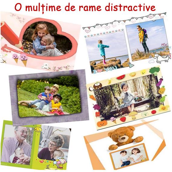 Aparat foto pentru Copii, SMARTIC, Magic Mirror, Roz 5