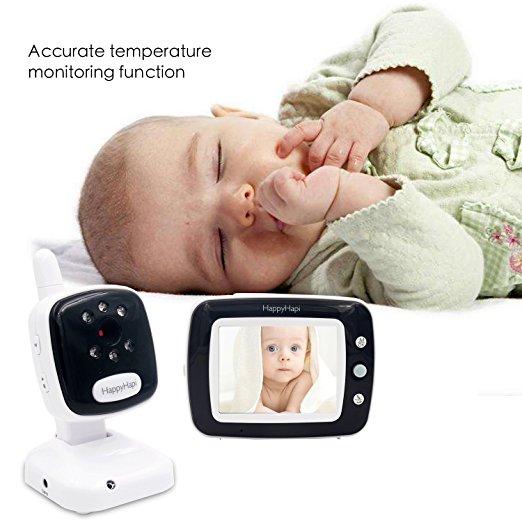 Baby Monitor Smart SI-LiveSmart SM36, model 2019, WI-FI 2,4Ghz, Talk-Back, Activare Vocala, Cantece Leagan incorporate 4