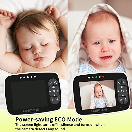 Baby Monitor Smart SI-LiveSmart SM36, model 2018, WI-FI 2,4Ghz, Talk-Back, Activare Vocala, Cantece Leagan incorporate 3