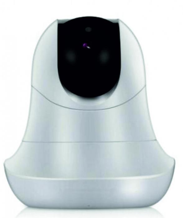 Baby Monitor Smart SI-LiveSmart SM39, WI-FI, Rotire 355⁰ orizontala / 120⁰ verticala, Comunicare bidirectionala, Activare Vocala, Cantece Leagan incorporate, Alb/Negru 2