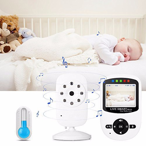 "Baby Monitor Video pentru bebelusi SI-LiveSmart SM24, night vision, TFT 2,4"",alarma temperatura,300 m ,360⁰ 2"
