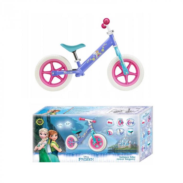 Bicicleta copii Frozen Disney, fara pedale 1