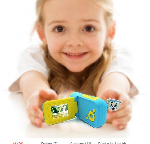 Camera Digitala Foto-Video pentru Copii, Fotografiere HD, Filmare HD, Albastru 1