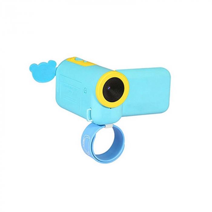 Camera Digitala Foto-Video pentru Copii, Fotografiere HD, Filmare HD, Albastru 0
