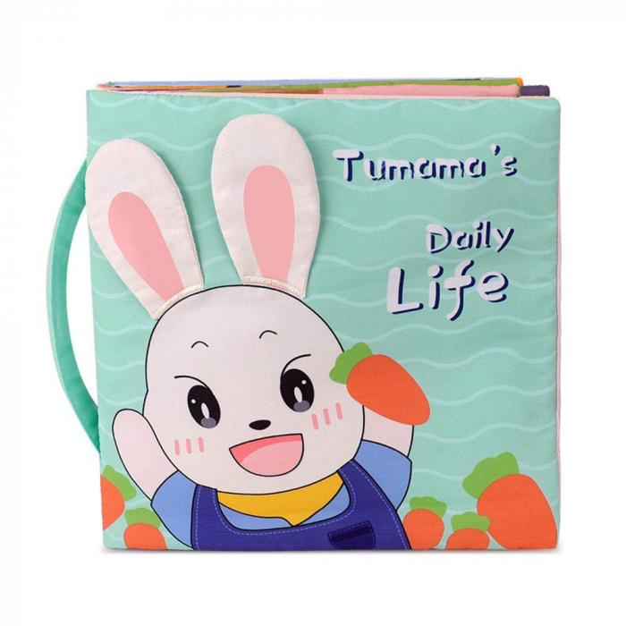 Carticica fosnitoare senzoriala Daily Life Tumama®, pentru dentitia copiilor si a bebelusilor 0