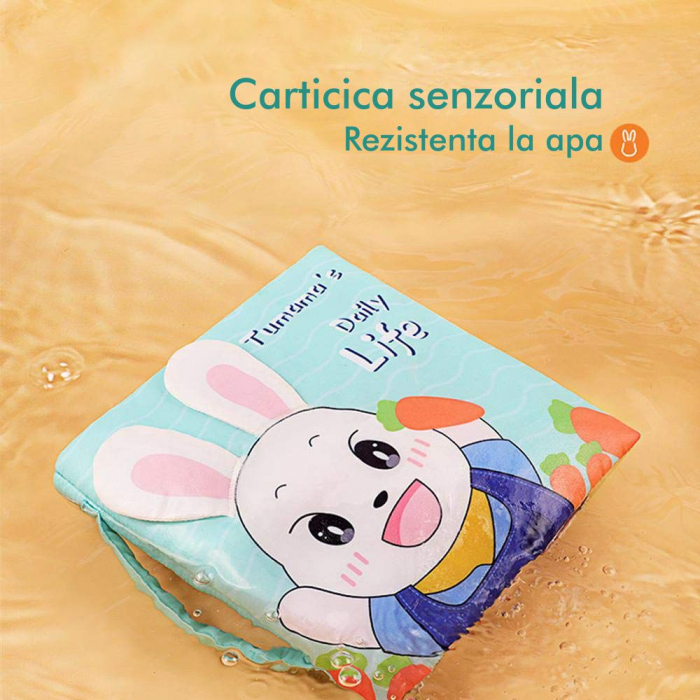 Carticica fosnitoare senzoriala Daily Life Tumama®, pentru dentitia copiilor si a bebelusilor 5