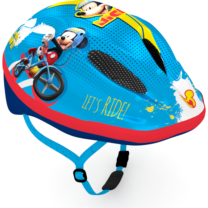 Casca de protectie pentru copii, cu sistem de reglare ,Mickey Mouse 0