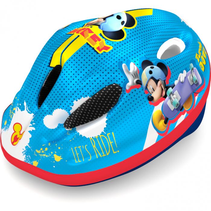 Casca de protectie pentru copii, cu sistem de reglare ,Mickey Mouse 1