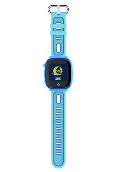 Ceas Smartwatch cu GPS pentru copii, Aplicatie Telefon, Impermeabil, Functie SOS, WiFi, SMARTIC®, Albastru 1