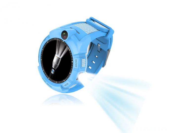 Ceas Smartwatch cu GPS pentru Copii, Smartic, Albastru, Rotund, functie apeluri, localizare GPS, camera foto, zona de siguranta, buton SOS 1
