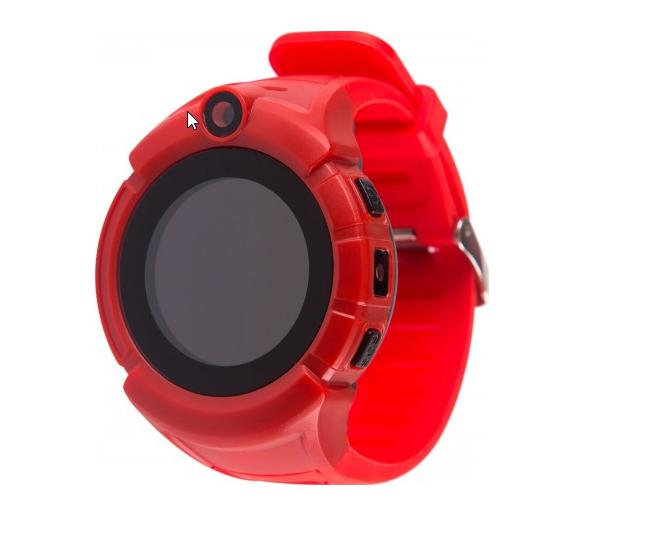 Ceas Smartwatch cu GPS pentru Copii, SMARTIC®, Rosu, Rotund, functie apeluri, localizare GPS, camera foto, zona de siguranta, buton SOS 2