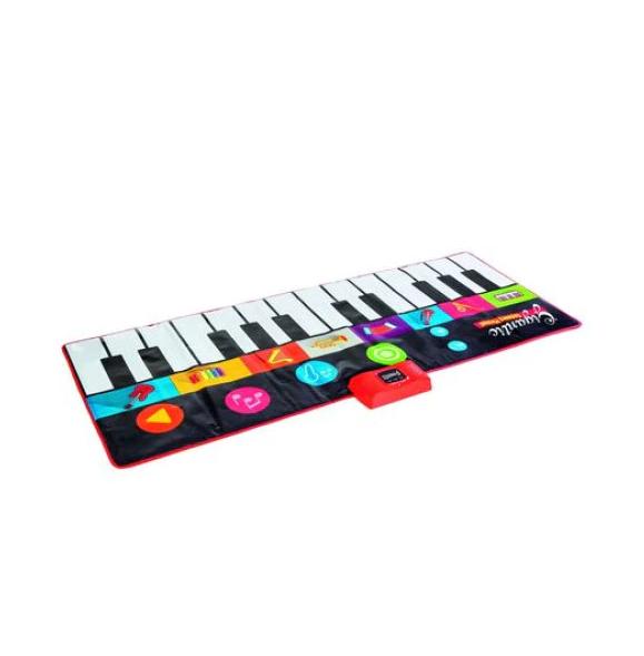 Covor muzical pian cu sunete, 24 taste, volum reglabil, 4 moduri, 181x74 cm, Smartic®, multicolor [1]