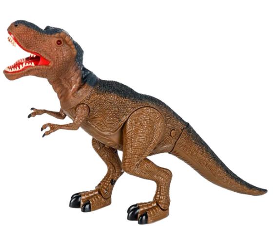 Dinozaur interactiv T-Rex de la SMARTIC®, cu lumini, sunete si miscari reale [0]