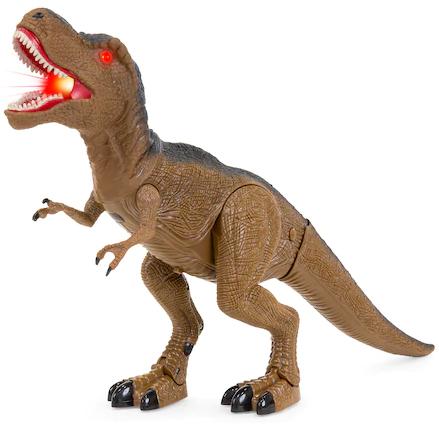 Dinozaur interactiv T-Rex de la SMARTIC®, cu lumini, sunete si miscari reale [2]