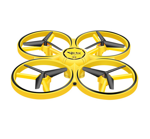 Drona Elicopter Inductie, Control prin gesturi, Rotire 360 grade, Leduri incorporate 0