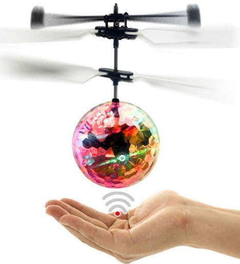 Elicopter mini de jucarie, model minge, controlabil cu mana,  SMARTIC® 3