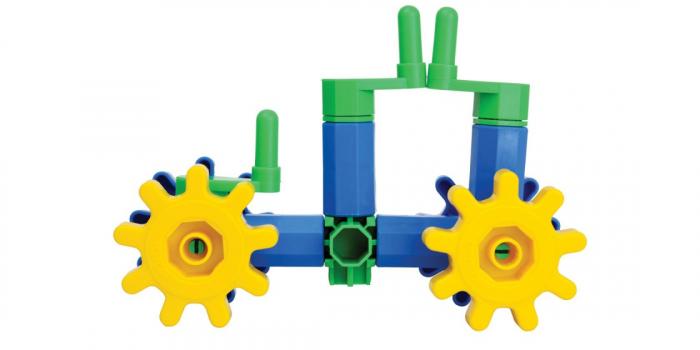 Joc educativ Korbo Quad18 Gandeste, Construieste, Roteste, de construit pentru copii 1