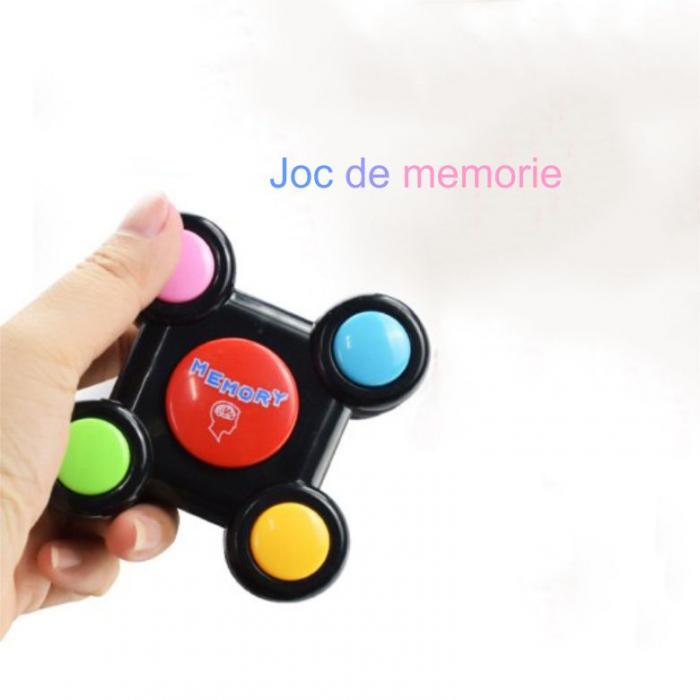 Joc interactiv de memorie cu sunete si lumini 8x8x3 cm, SMARTIC®, multicolor 3