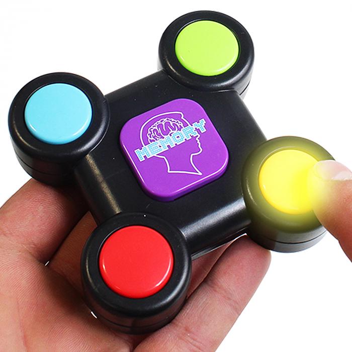 Joc interactiv de memorie cu sunete si lumini 8x8x3 cm, SMARTIC®, multicolor 2