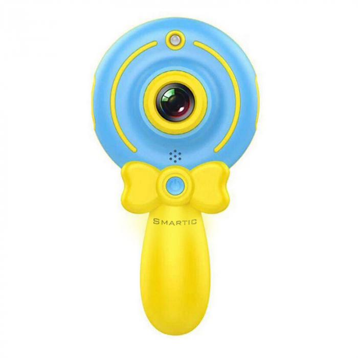 Jucarie aparat foto pentru Copii, SMARTIC®, Magic Mirror, Albastru 0