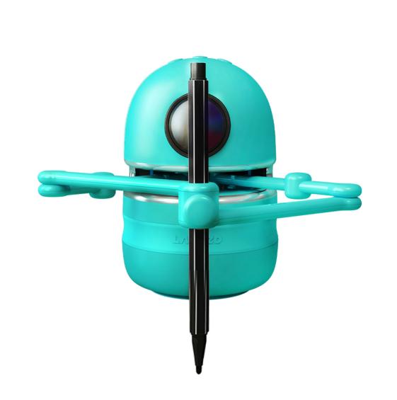 Jucarie Interactiva Electronica Robotelul Inteligent Quincy, SMARTIC®, verde 0