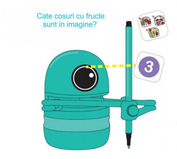 Jucarie Interactiva Electronica Robotelul Inteligent Quincy, SMARTIC®, verde 6