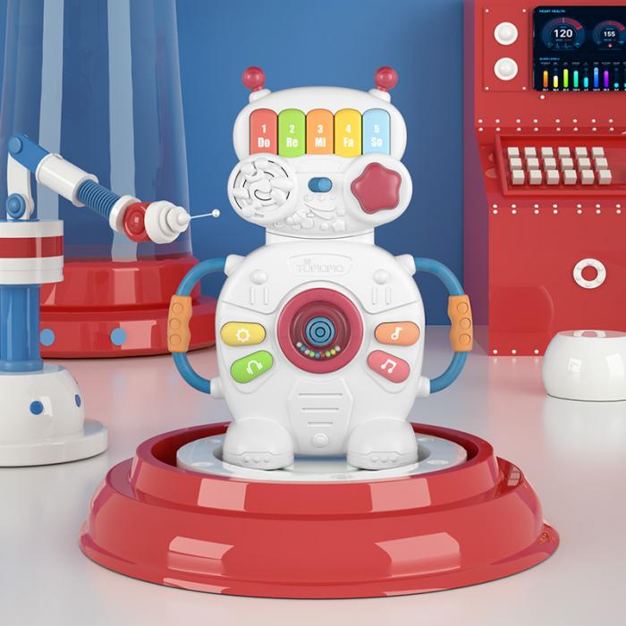 Jucarie muzicala educativa Robotelul Magic Tumama®, pentru copii si bebelusi 5