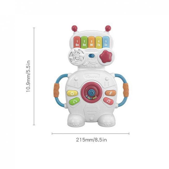 Jucarie muzicala educativa Robotelul Magic Tumama®, pentru copii si bebelusi 9
