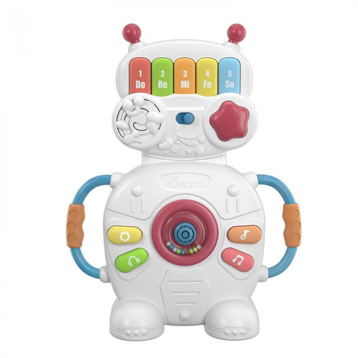 Jucarie muzicala educativa Robotelul Magic Tumama®, pentru copii si bebelusi 0