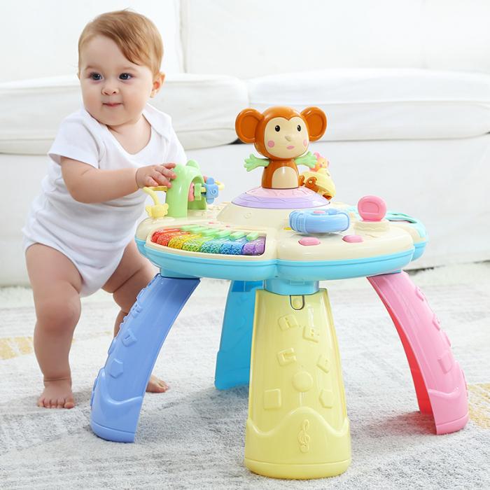 Masa muzicala educativa Maimutica vesela Tumama®, pentru copii de 0-3 ani 3