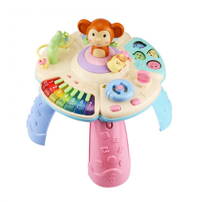 Masa muzicala educativa Maimutica vesela Tumama®, pentru copii de 0-3 ani 0