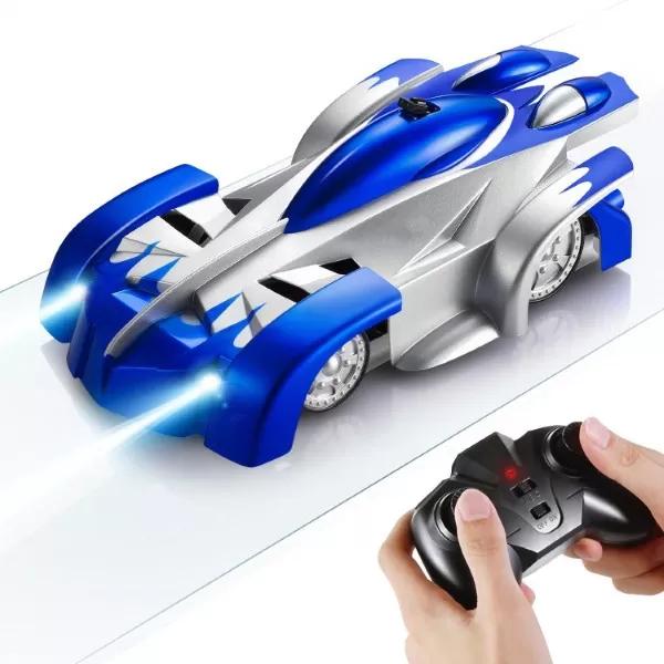 Masinuta Magic Car, Smartic, urca pe tavan, perete, fereastra si podea, +3 ani, albastru 1