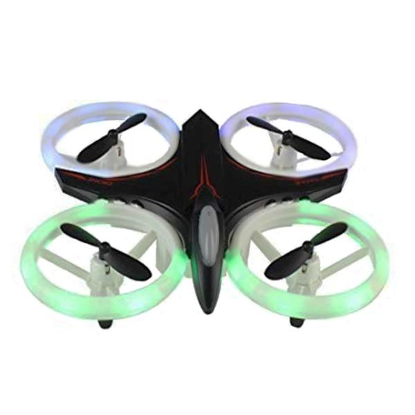 Mini drona cu semnale luminoase LED, Functii 3D , Mentinerea altitudinii si telecomanda 0
