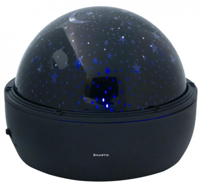 Proiector LED lampa veghe pentru camera cu stelute albastre, SMARTIC® 0